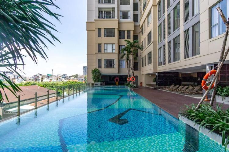 Tiện ích căn hộ The Tresor, Quận 4 Căn hộ The Tresor tầng 15 diện tích 65m2, cửa hướng Đông Bắc.