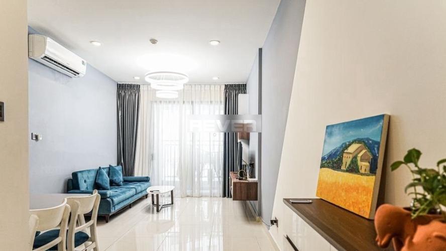 Căn hộ Saigon Royal tầng 14 cửa hướng Tây Bắc, đầy đủ nội thất.