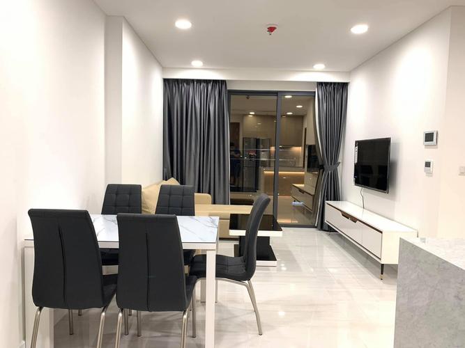 Căn hộ Kingdom 101 tầng 17 thiết kế sang trọng, đầy đủ nội thất và tiện ích.