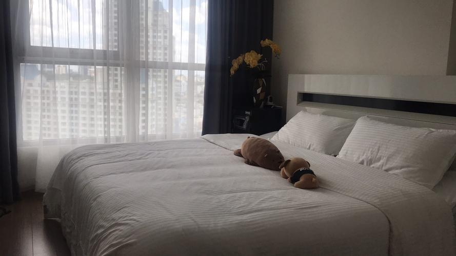 Căn hộ Vinhomes Central Park, Quận Bình Thạnh Căn hộ Vinhomes Central Park tầng 12A thiết kế kỹ lưỡng, có 1 phòng ngủ.