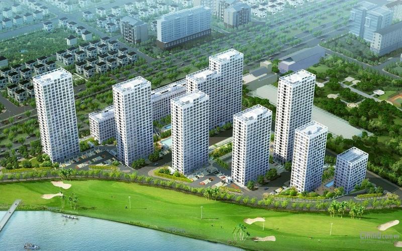 bulding căn hộ Happy Valley Căn hộ Happy Valley tầng thấp diện tích 135m2, đầy đủ nội thất.