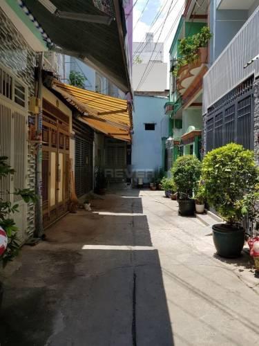 Đường trước nhà phố Quận Tân Phú Nhà phố gần UBND Quận, hẻm cụt vô cùng an ninh, diện tích 42m2.