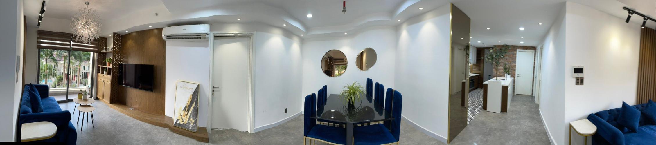Không gian căn hộ Duplex Masteri Thảo Điền, Quận 2 Căn hộ Duplex Masteri Thảo Điền nội thất đầy đủ, view đón gió.
