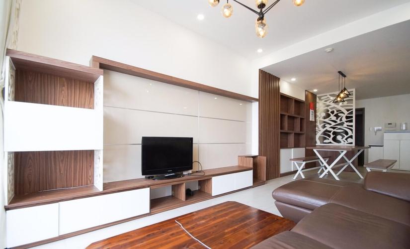 Căn hộ Lexington Residence tầng 14 thiết kế kỹ lưỡng, đầy đủ nội thất.