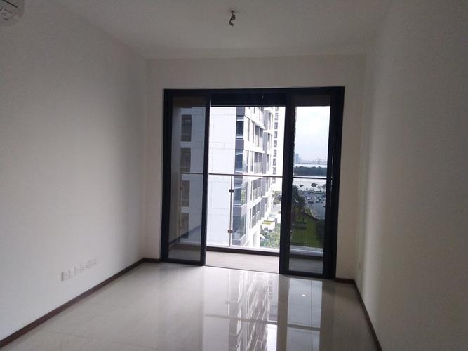 Căn hộ có 1 phòng ngủ One Verandah tầng 6 diện tích 55.9m2, nội thất cơ bản.