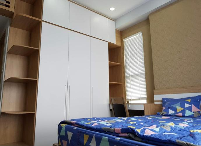 phòng ngủ căn hộ The Sun Avenue Căn hộ tầng 23 The Sun Avenue  nội thất đầy đủ, view thành phố cực đẹp
