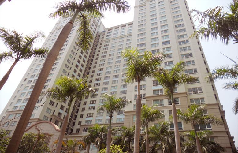 Căn hộ The Manor, Quận Bình Thạnh Căn hộ The Manor tầng 10 diện tích 33m2, bàn giao đầy đủ nội thất.