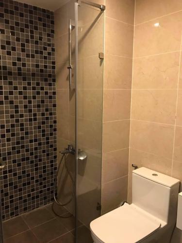 Phòng tắm căn hộ The Tresor Căn hộ tháp TS1 The Tresor, 3 phòng ngủ view nội khu yên tĩnh.