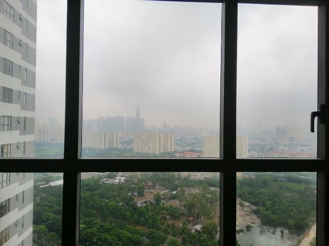 View cảnh căn hộ The Sun Avenue Căn hộ The Sun Avenue tầng cao, đầy đủ nội thất, view Landmark.