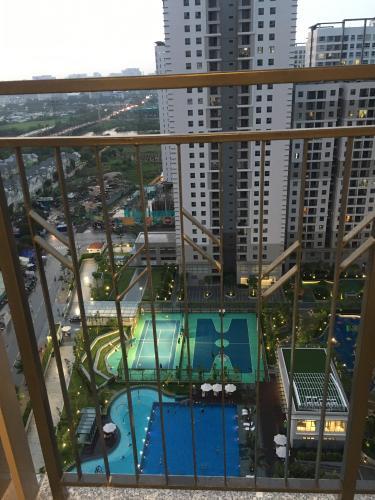 View Căn hộ tầng 21 Saigon South Residence thiết kế kỹ lưỡng, đầy đủ nội thất.