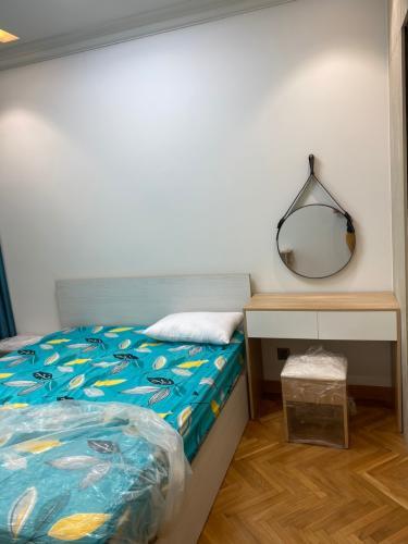 Phòng ngủ Feliz En Vista Căn hộ Feliz En Vista tầng cao, nội thất đầy đủ hiện đại.