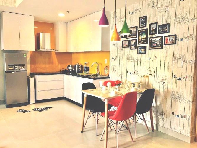 Căn hộ Masteri Thảo Điền tầng 20 diện tích 70m2, đầy đủ nội thất.