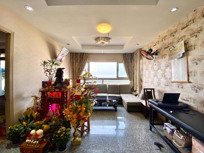 Căn hộ Dragon Hill Residence And Suites tầng 24, view đón gió thoáng mát.