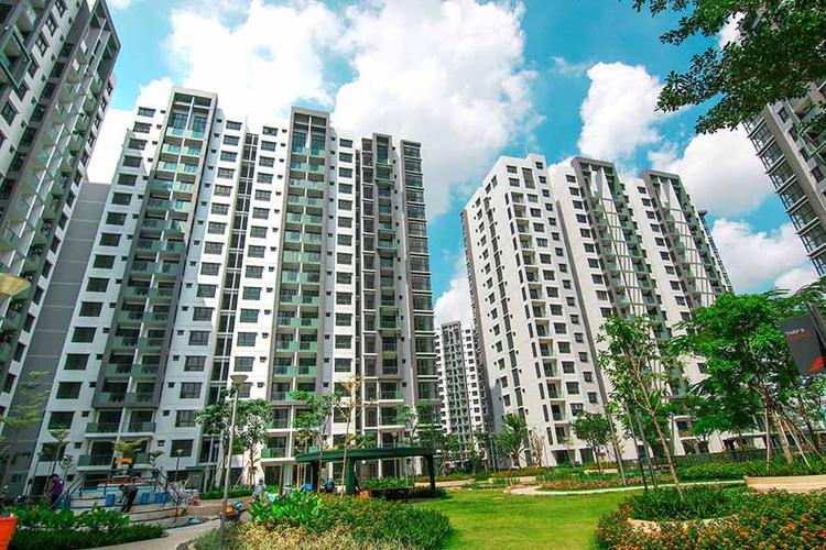 Căn hộ Celadon City, Quận Tân Phú Căn hộ Celadon City tầng 4 thiết kế 2 phòng ngủ, nội thất cơ bản.