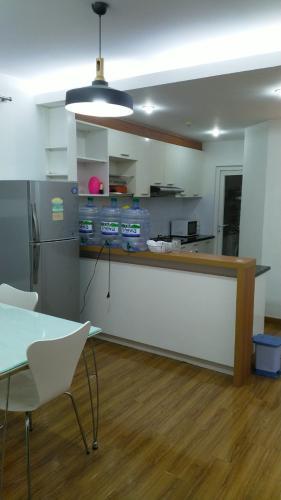 Phòng bếp căn hộ Ruby Garden Căn hộ chung cư Ruby Garden tầng 8 view thoáng mát, đủ nội thất.