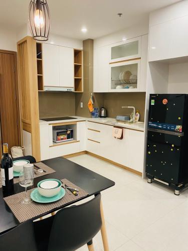 bếp căn hộ New City Thủ Thiêm quận 2 Căn hộ tầng 06 New City Thủ Thiêm bàn giao nội thất đầy đủ