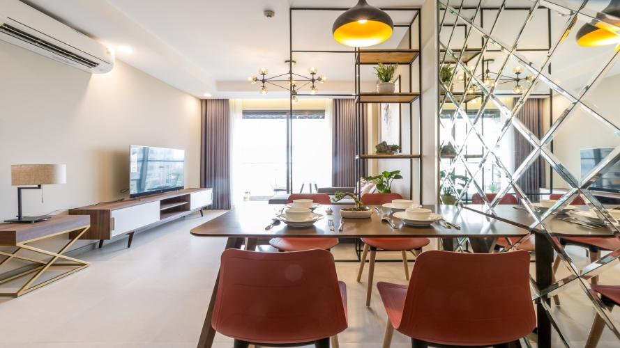 Căn hộ The Gold View tầng 8 diện tích 80m2, bàn giao đầy đủ nội thất.