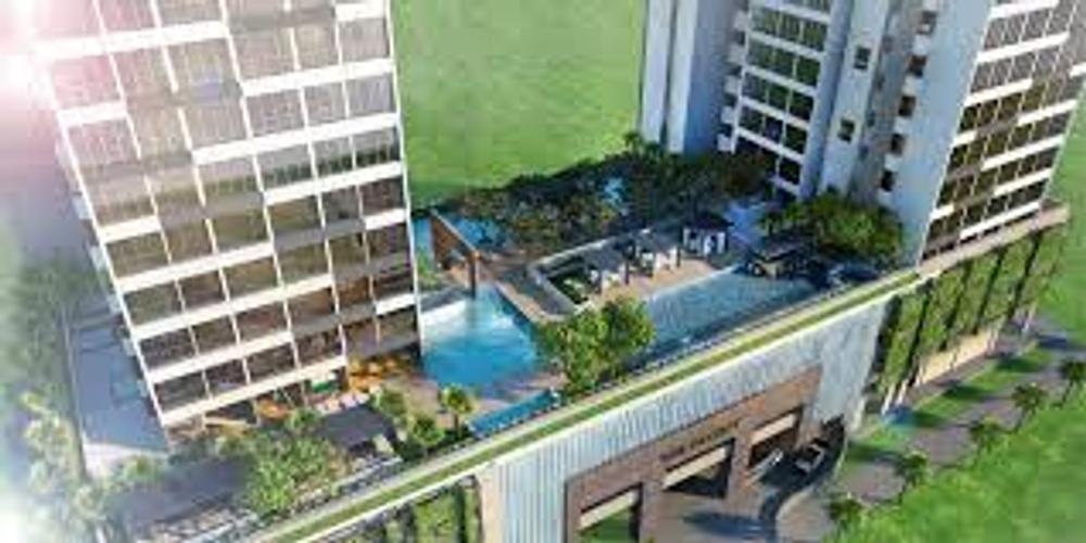 Căn hộ The Ascent, Quận 2 Căn hộ The Ascent tầng 19 diện tích 72m2, đầy đủ nội thất.