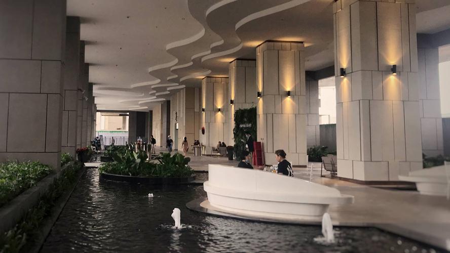 Tiện ích căn hộ River Panorama, Quận 7 Căn hộ River Panorama tầng 22 diện tích 63m2, view sông thoáng mát.