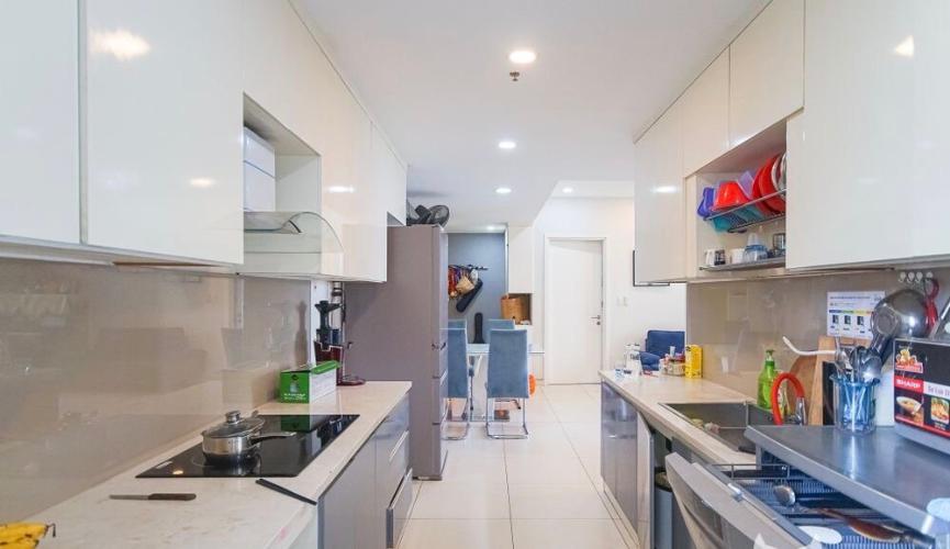 Phòng bếp căn hộ Masteri Thảo Điền, Quận 2 Căn hộ tầng 6 Masteri Thảo Điền view thoáng mát, nội thất cơ bản.