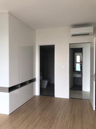 phòng khách căn hộ Masteri Millennium Căn hộ Masteri Millennium đầy đủ nội thất, ban công hướng Tây Nam.