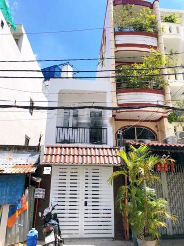 Nhà phố mặt tiền đường Văn Thân diện tích 48m2, khu dân cư đông đúc.
