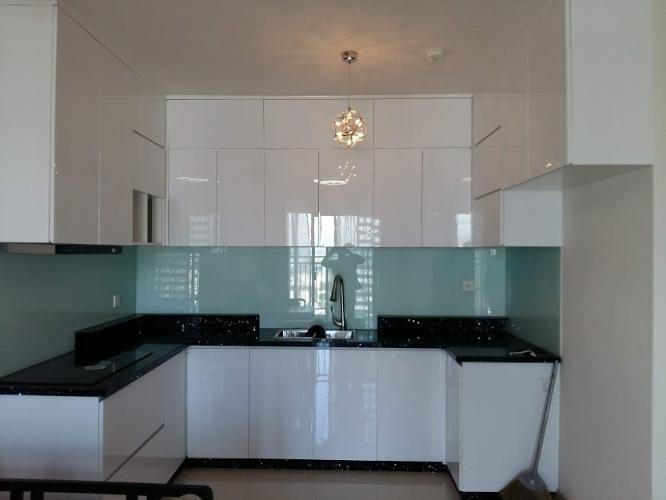 Phòng bếp căn hộ The Sun Avenue, Quận 2 Căn hộ The Sun Avenue tầng 28, đầy đủ nội thất hiện đại.