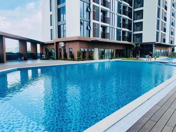 Tiện ích căn hộ Eco Green Saigon, Quận 7 Căn hộ Eco Green Saigon tầng 22, 3 phòng ngủ có view thành phố tuyệt đẹp.