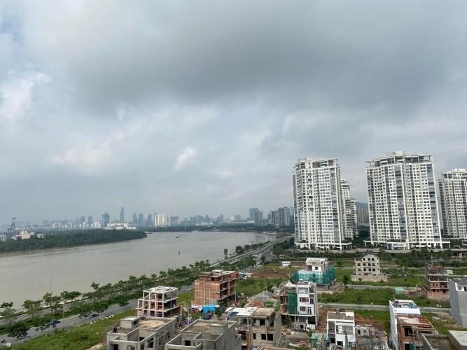 View One Verandah Quận 2 Căn hộ One Verandah tầng trung, view sông và thành phố thoáng mát.