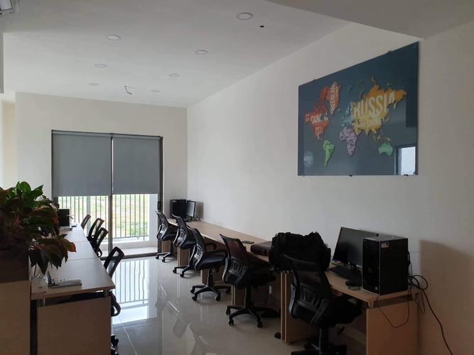 Officetel SUnrise Cityview căn góc tầng 3, view đón gió thoáng mát.