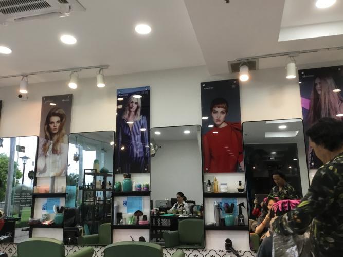 Nội thất shophouse Phú Hoàng Anh Shophouse chung cư Phú Hoàng Anh, đầy đủ nội thất.