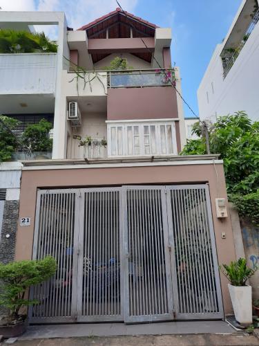 Mặt tiền nhà phố Quận 2 Nhà phố mặt tiền đường số 14 sau lưng căn hộ The Vista, nội thất cơ bản.