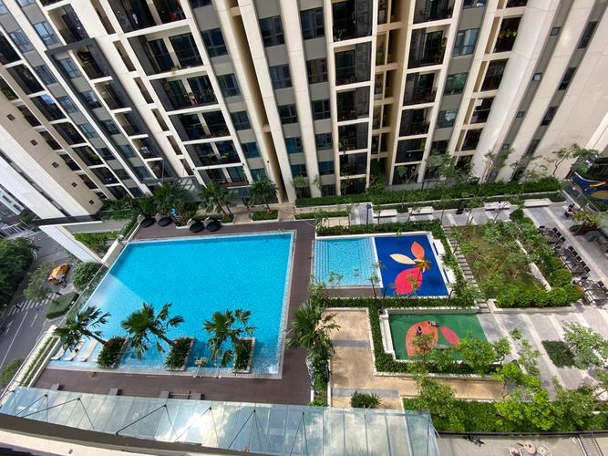 Tiện ích căn hộ HaDo Centrosa Garden, Quận 10 Căn hộ HaDo Centrosa Garden tầng 11 diện tích 107m2, nội thất cơ bản.