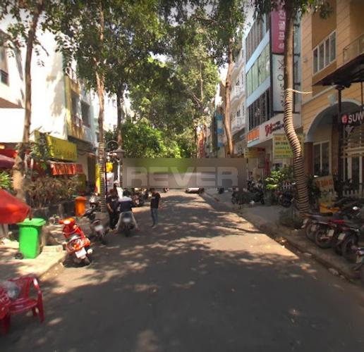 Đường trước mặt bằng kinh doanh Quận 7 Mặt bằng kinh doanh KĐT Phú Mỹ Hưng, diện tích 100m2 vuông đẹp.