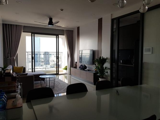 Phòng khách Saigon Royal Quận 4 Căn hộ Saigon Royal, Tầng cao, Nội thất cao cấp