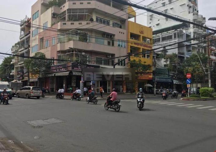 Đường trước văn phòng Quận 5 Văn phòng mặt tiền đường Nguyễn Trãi, diện tích 320m2 tiện ích đầy đủ.