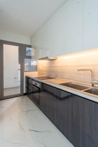 Phòng bếp căn hộ Empire City, Quận 2 Căn hộ Empire City tầng 21 ban công hướng Đông Nam, nội thất cơ bản.