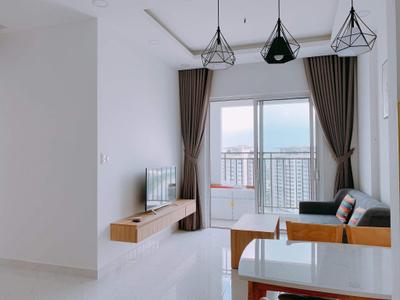 Căn hộ Sunrise Riverside tầng 24 thiết kế 2 phòng ngủ, nội thất cơ bản.