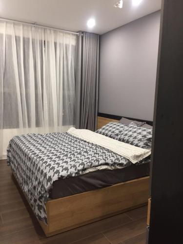 Phòng ngủ căn hộ The Sun Avenue  BÁN VÀ CHO THUÊ CĂN 1PN- THE SUN AVENUE