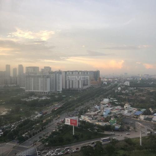 View căn hộ Centana Thủ Thiêm, Quận 2 Căn hộ Centana Thủ Thiêm tầng 21 cửa hướng Tây, view thành phố thoáng mát.