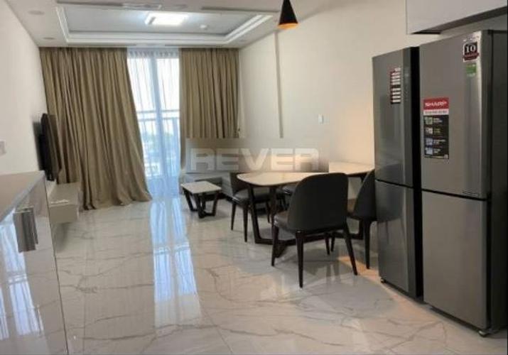 Căn hộ Sunshine City Saigon tầng 6 thiết kế 2 phòng ngủ, đầy đủ nội thất.