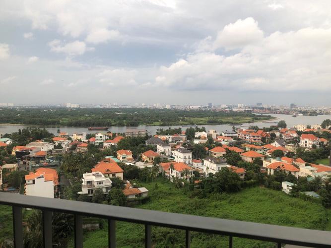 View căn hộ Masteri Thảo Điền, Quận 2 Căn hộ Masteri Thảo Điền tầng 17 diện tích 71.8m2, đầy đủ nội thất.