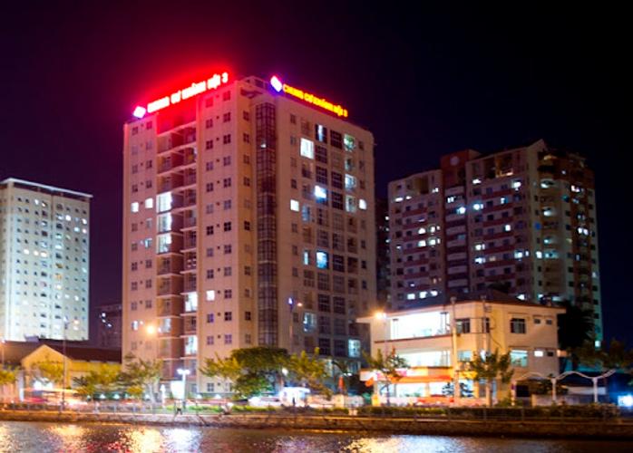 View căn hộ Chung cư Khánh Hội 3, Quận 4 Căn hộ Chung cư Khánh Hội 3 tầng 2 tiện di chuyển, cửa hướng Đông Nam.