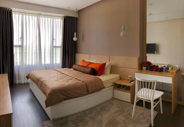 Căn hộ The Tresor, Quận 4 Căn hộ The Tresor tầng 18 thiết kế 2 phòng ngủ, đầy đủ nội thất.
