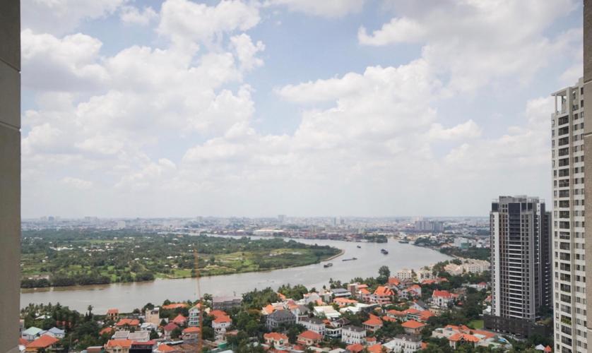 View căn hộ Masteri Thảo Điền, Quận 2 Căn hộ Masteri Thảo Điền tầng 31 view sông Sài Gòn, đầy đủ nội thất.