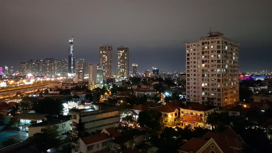 View căn hộ Masteri Thảo Điền, Quận 2 Căn hộ Masteri Thảo Điền tầng 11 diện tích 70.7m2, view thành phố