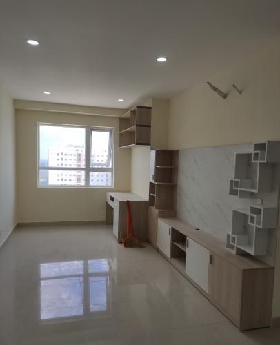 Căn hộ Topaz Elite, Quận 8 Căn hộ Topaz Elite tầng 25 thiết kế hiện đại, nội thất cơ bản.