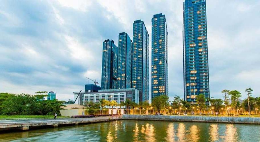 Vinhomes Golden River Căn hộ Vinhomes Golden River đầy đủ nội thất tiện nghi, tầng cao.