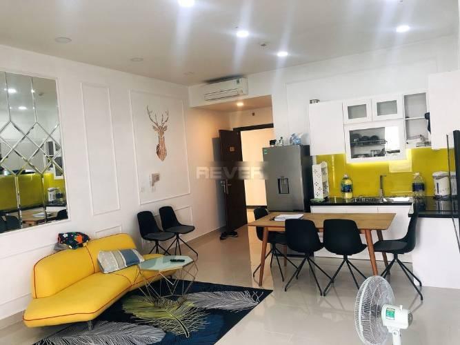 Officetel Sunrise CityView tầng 3 diện tích 38m2, đầy đủ nội thất.