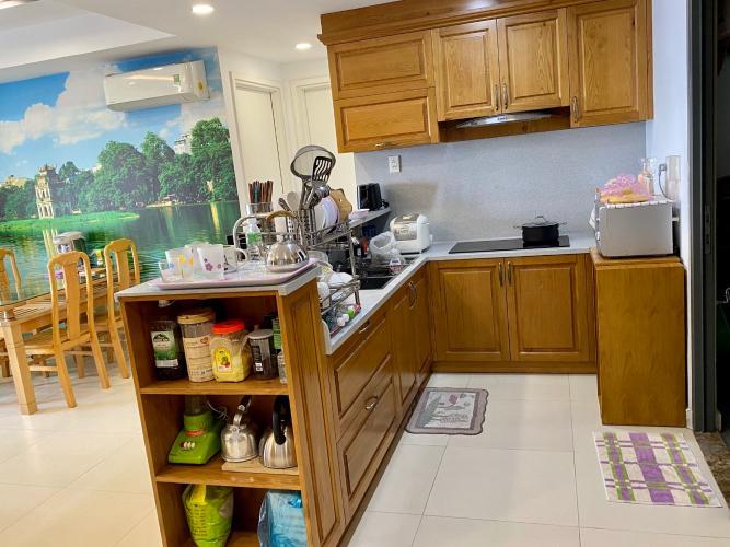 Phòng bếp căn hộ Masteri Thảo Điền, Quận 2 Căn hộ Masteri Thảo Điền đầy đủ nội thất, tiện ích cao cấp.